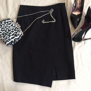 White House Black Market wrap around skirt